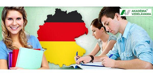 Kurz nemeckého jazyka pre začiatočníkov