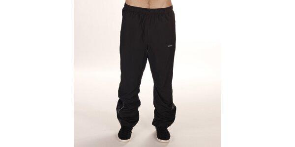 Pánske čierne športové nohavice Reebok