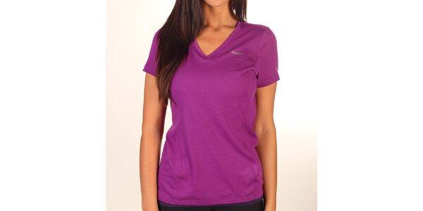 Dámske kombinované fialové tričko Reebok