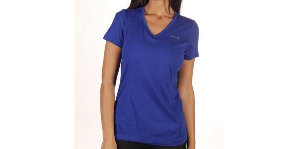 Dámske modré kombinované tričko Reebok
