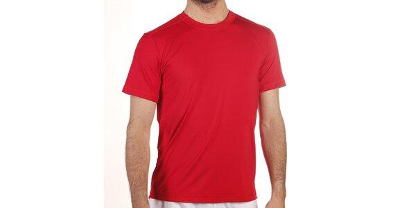 Pánske červené elastické tričko Reebok