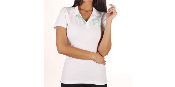 Dámske biele polo tričko Reebok