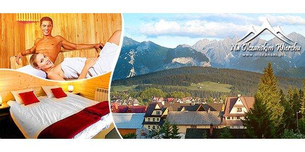 Horský pobyt pre 2 osoby, Poľské Tatry
