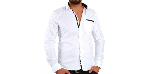 Pánska biela košeľa Premium Company