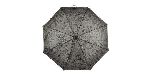 Pánsky skladací vzorovaný dáždnik Ferré Milano