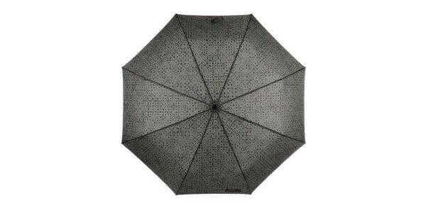 Pánsky malý skladací dáždnik so vzorom Ferré Milano