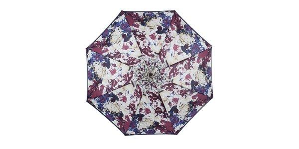 Dámsky kvetovaný dáždnik Ferré Milano