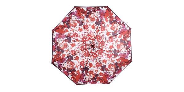Dámsky skladací dáždnik s kvetinami Ferré Milano