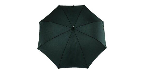 Pánsky dáždnik s modro-zeleným vzorom Ferré Milano