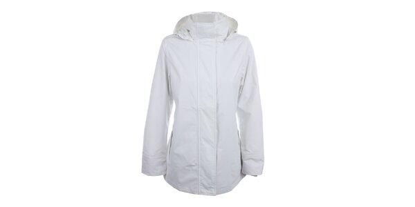 Dámska biela bunda do dažďa Happy Rainy Days