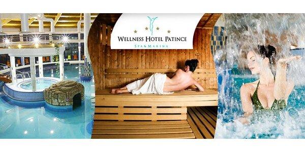 Fantastický bazénový a saunový svet - Wellness Hotel Patince****