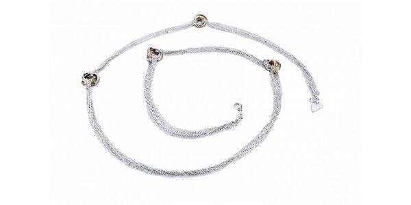Dámsky oceľový náhrdelník Guess