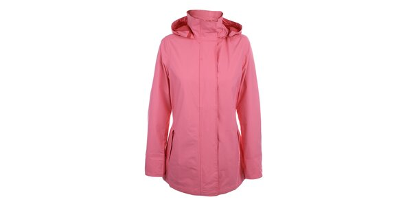 Dámska ružová bunda do dažďa Happy Rainy Days