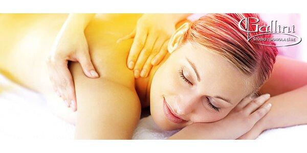 Klasická či športová masáž pre vašu pohodu