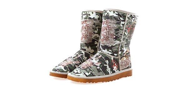 Dámske maskáčové topánky Elite Goby