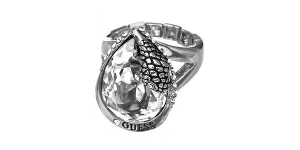 Dámsky prsteň so slzou Guess