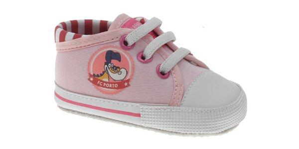 Detské ružové tenisky Beppi