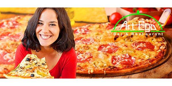 Super pizza v centre Bratislavy