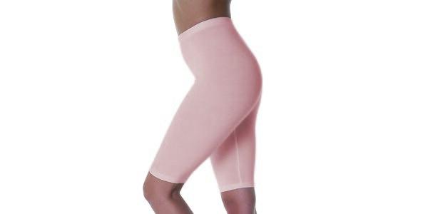 Dámske telové zoštíhlujúce krátke nohavice Slimtess