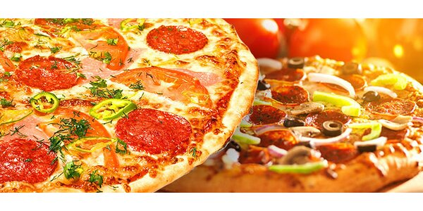 2 x chrumkavá talianska pizza