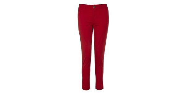 Dámske červené nohavice Yumi