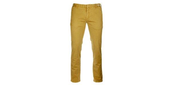 Pánske pieskové chino nohavice Tommy Hilfiger