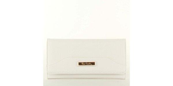 Dámska biela peňaženka s plieškom Pierre Cardin