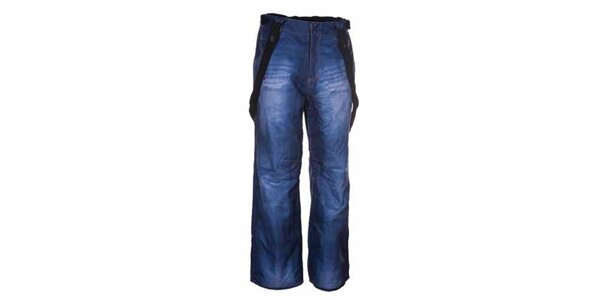 Pánske modré snowboardové nohavice Envy