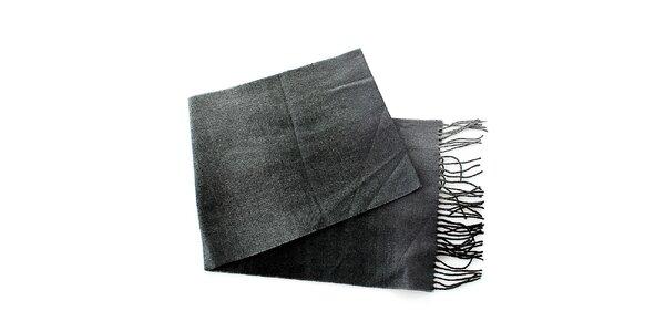 Pánsky tmavo šedý šál Pietro Filipi