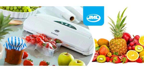 Vákuovací systém ktorý pomáha udržať vaše potraviny čerstvé