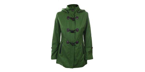 Dámsky zelený krátky kabát Halifax