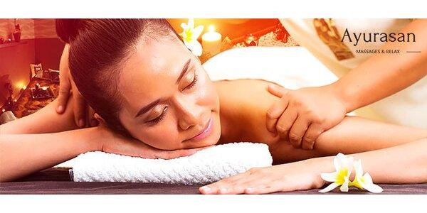 Luxusný masážny balíček Golden Dream 90 min.