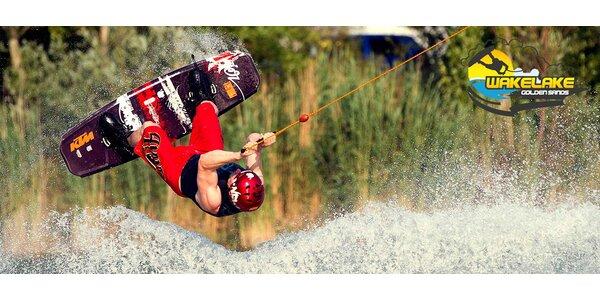 Last minute wakeboarding na Zlatých Pieskoch
