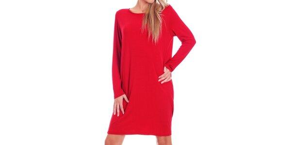 Dámske červené oversized šaty Berry Couture