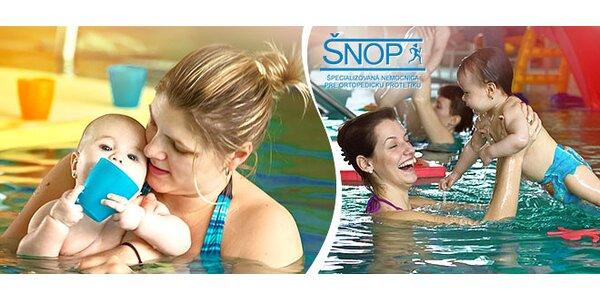 Kurz plávania s dieťaťom
