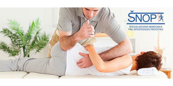 Masáž alebo regenerácia s fyzioterapeutom