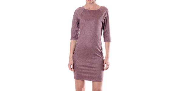 Dámske šaty v ružovom odtieni Lora Gene