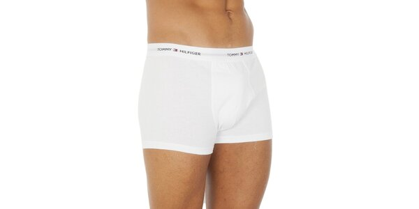 Pánske biele boxerky Tommy Hilfiger