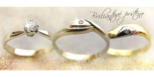 Briliantové prstene