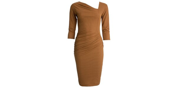Dámske šaty s asymetrickým výstrihom CeMe London