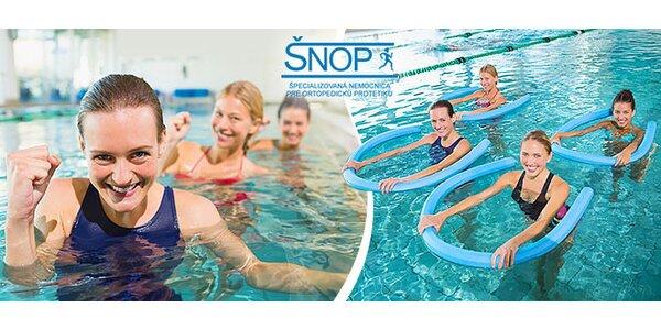 Aquaaerobik – formujte svaly vo vode!