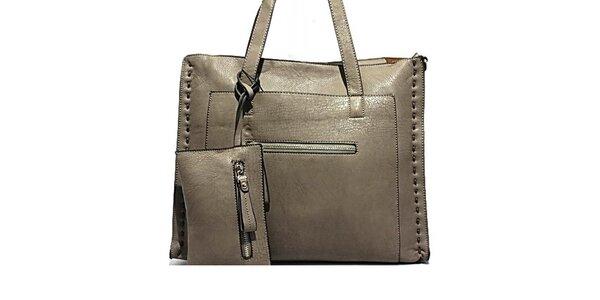Dámska kabelka s dekoratívnym prešívaním Bessie