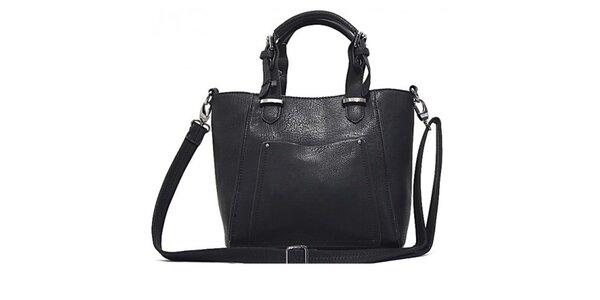 Dámska čierna kabelka s odopínacím popruhom Bessie