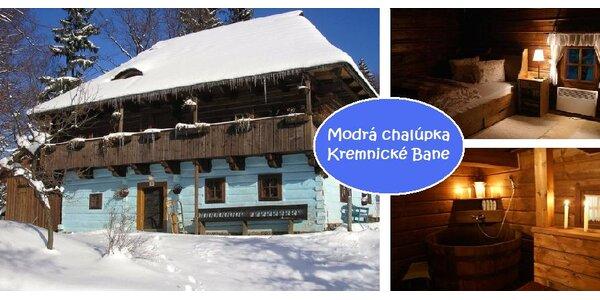 Zima v Modrej chalúpke - v drevenici s najkrajšou atmosférou