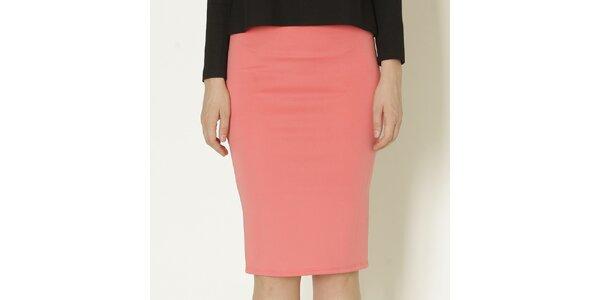 Dámska korálovo ružová púzdrová sukňa Keren Taylor
