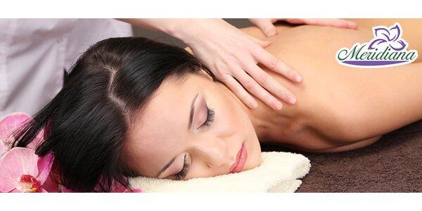 Masáž SHIATSU alebo klasická olejová masáž