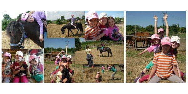 Jazda na poníkovi pre deti + opatrovanie