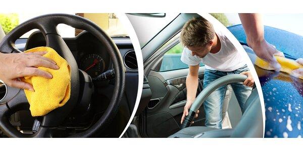 Umytie auta a ošetrenie palubovky