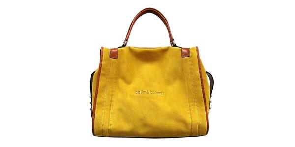 Dámska žltohnedá kabelka Belle & Bloom