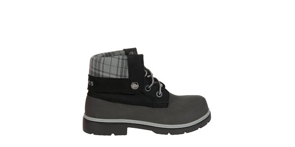 Chlapčenské šedé topánky Crocs
